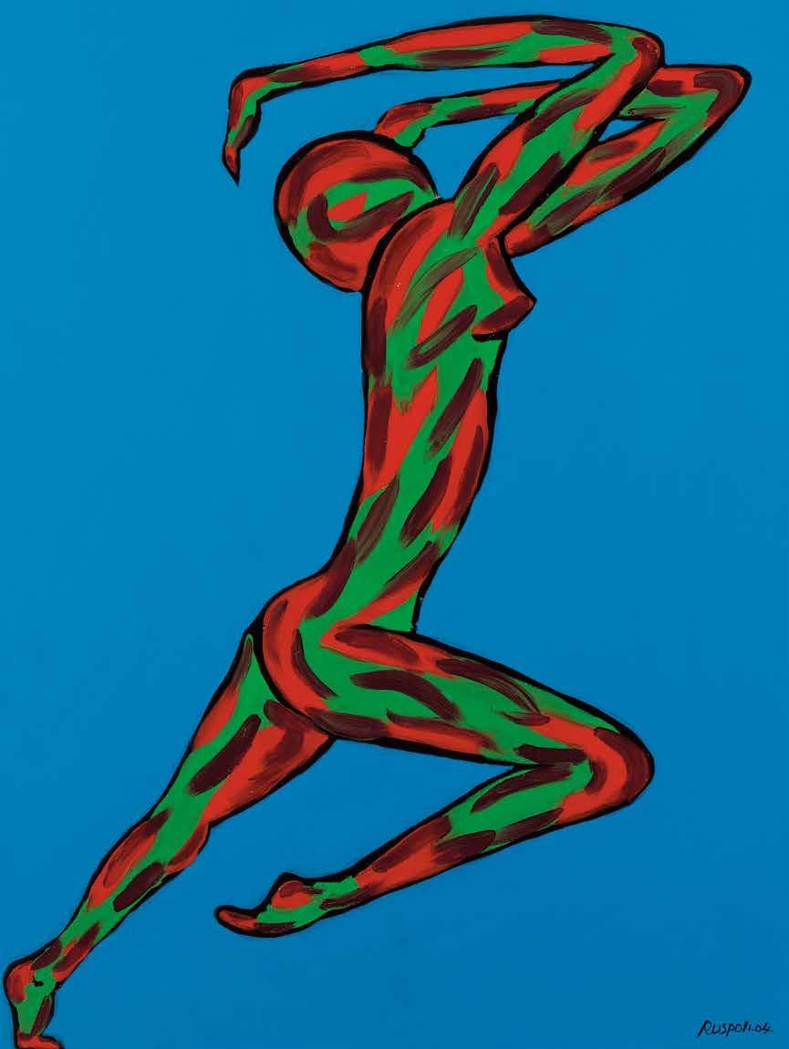 蹬跃 弗朗切斯卡·卢斯波力(法国) /  Gazelle Francesco Ruspoli (France) / 102cm×76cm