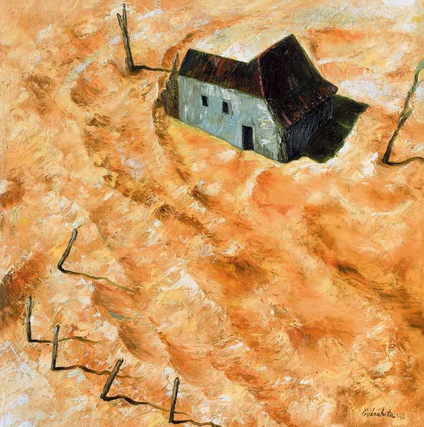 沙屋 胡安·罗德里格·皮埃德拉希塔(哥伦比亚) /  Sand House Juan Rodrigo Piedrahita (Colombia) / 44cm×44cm