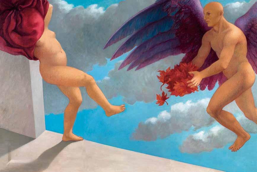 秋之天使 玛丽亚·伊莎贝拉·皮佐诺(意大利) /  Angelo D' Autunno Maria Elizabetta Pizzorno (Italy) / 131cm×198cm