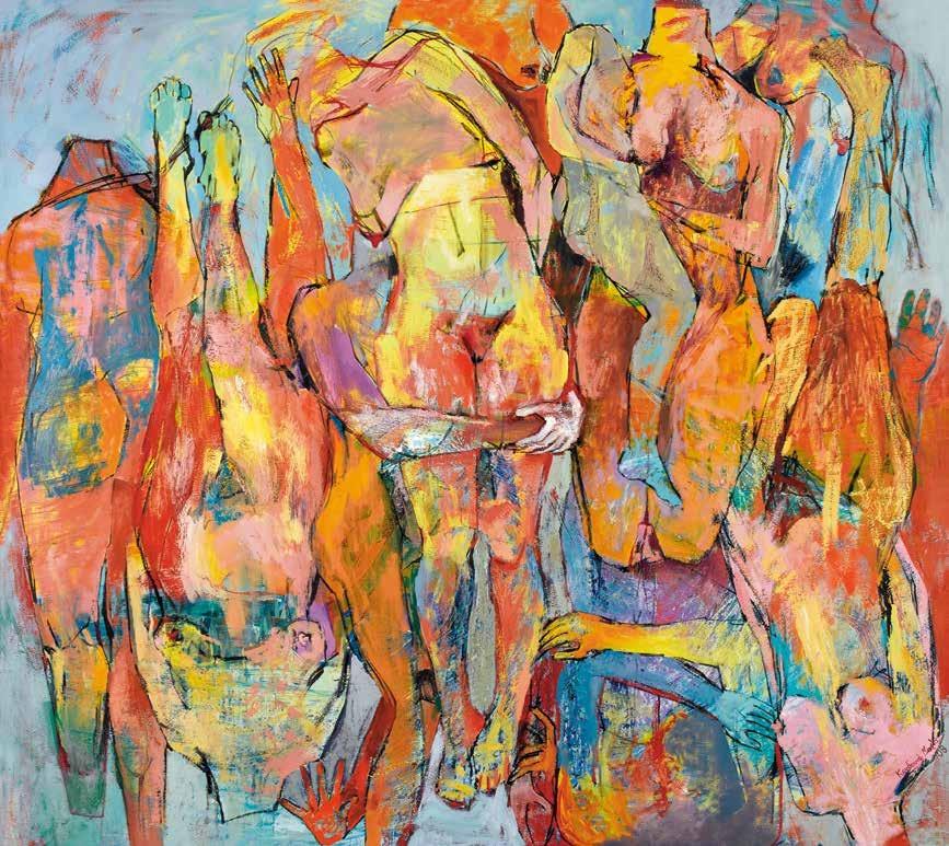无题 玛丽亚·科杜拉·泽乌拉里(塞浦路斯) Untitled Maria Koudouna Zevlari (Cyprus) / 180cm×200cm