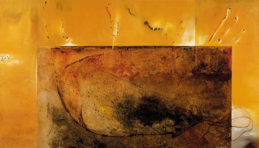 让那里有光 II 沙迪亚·拜鲁(摩洛哥) /  Let There be Light II Sadya Bairou (Morocco) / 160cm×280cm
