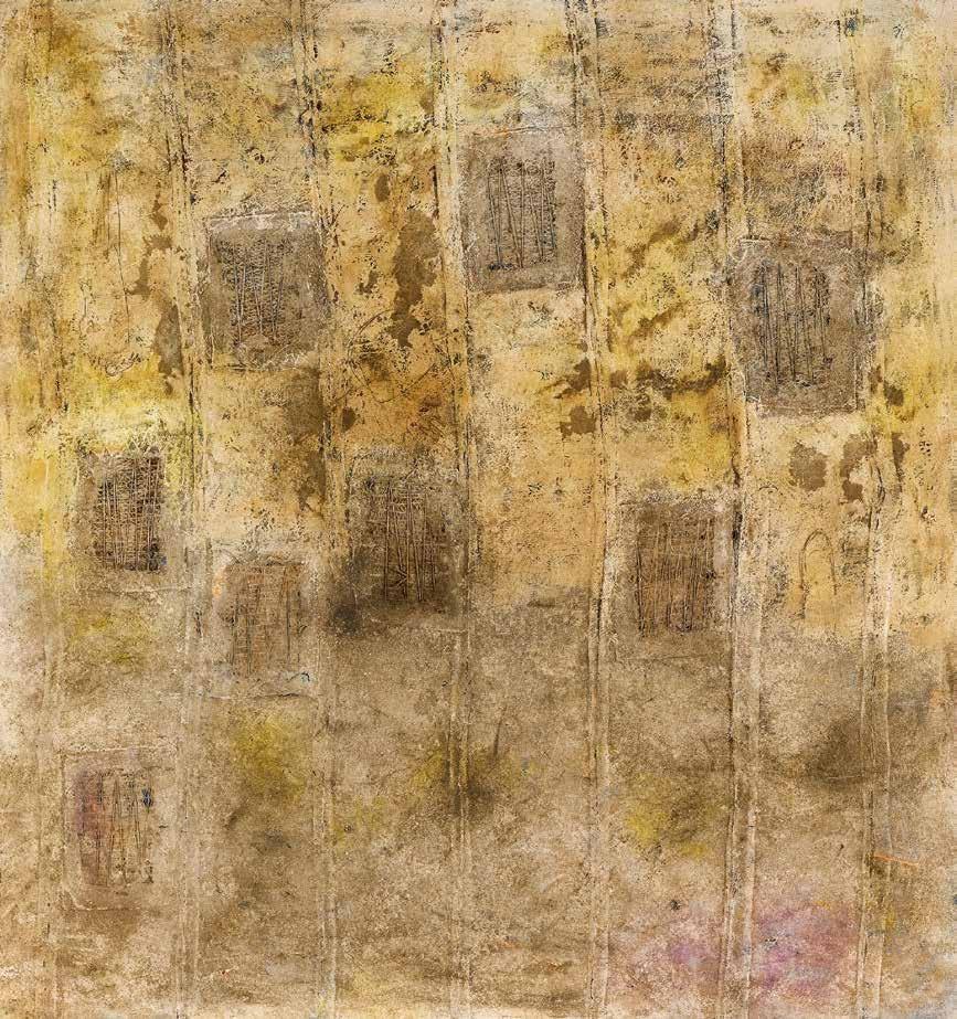 痕迹 维耶·迪巴(塞内加尔) /  Traces Viye Diba (Senegal) / 140cm×130cm