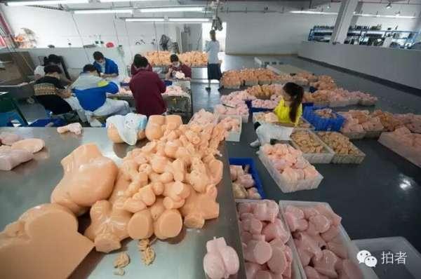 18万斤情趣用品备战娃娃一双十女友生产过程的说笨蛋硅胶我情趣没图片