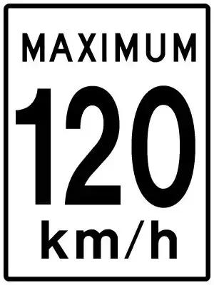 """第67条规定:""""高速公路限速标志"""