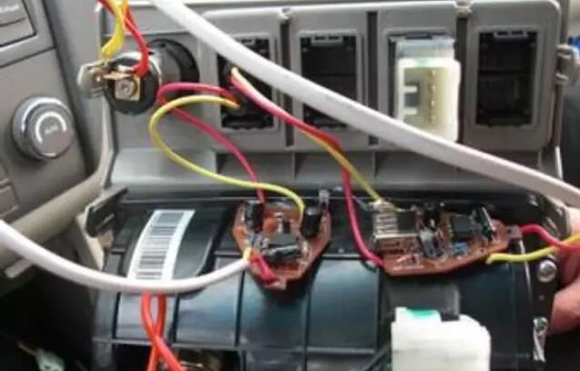 通用汽车车载电路接线图