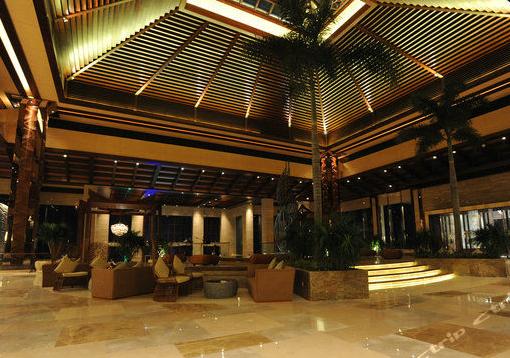 酒店山海呼应林石交错惠州金海湾嘉华度假酒店位于惠东县巽寮高清图片
