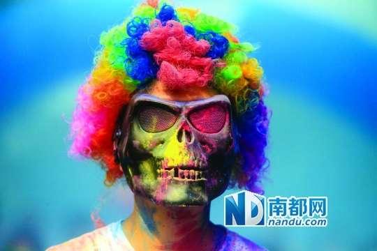 跑步文化的流行 广州创意跑步活动大热_广州频道_凤凰