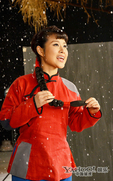 及歌剧白毛女中的《北风吹》,在王昆老师从艺70周年国家大剧院