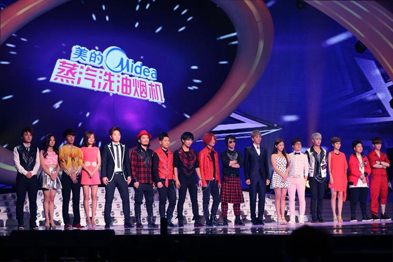 《我的中国星》九强将诞生 选手集体忆初恋