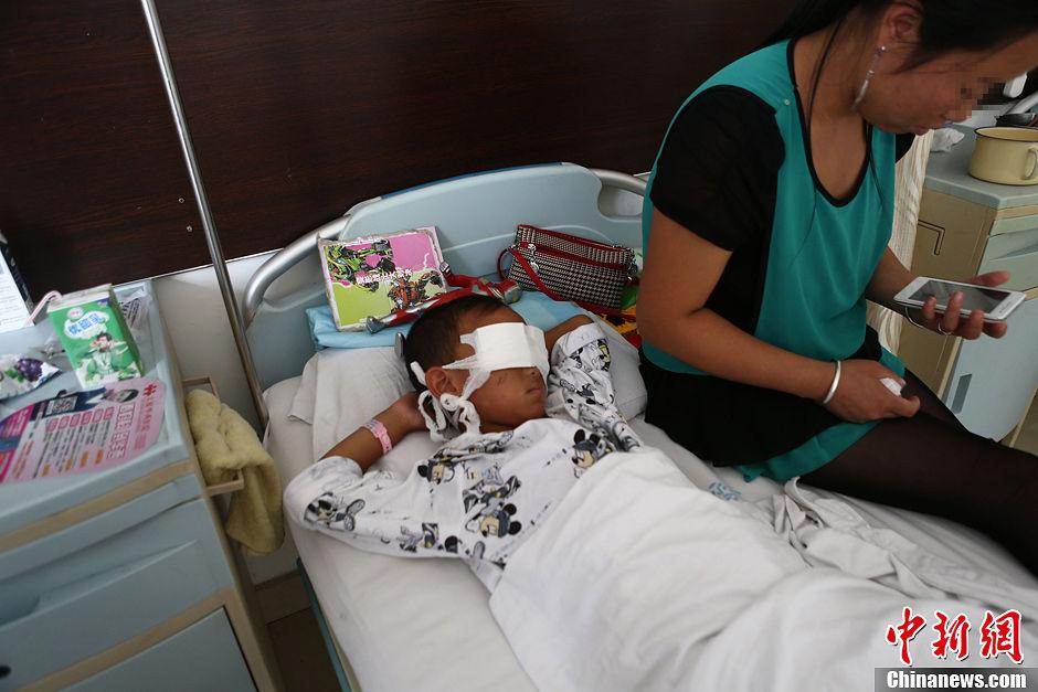 [转发]山西6岁男童家外玩耍被人药昏后挖去双眼 - yfdgad - yfdgad的博客