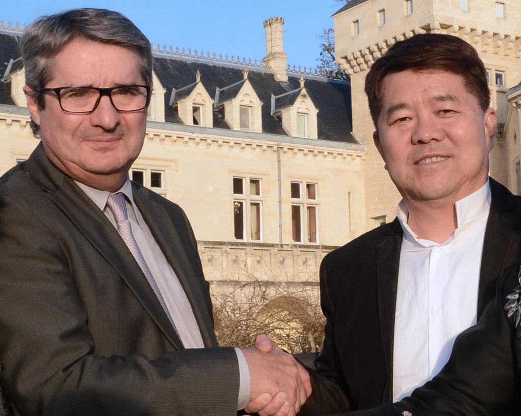 柯森与中国老婆
