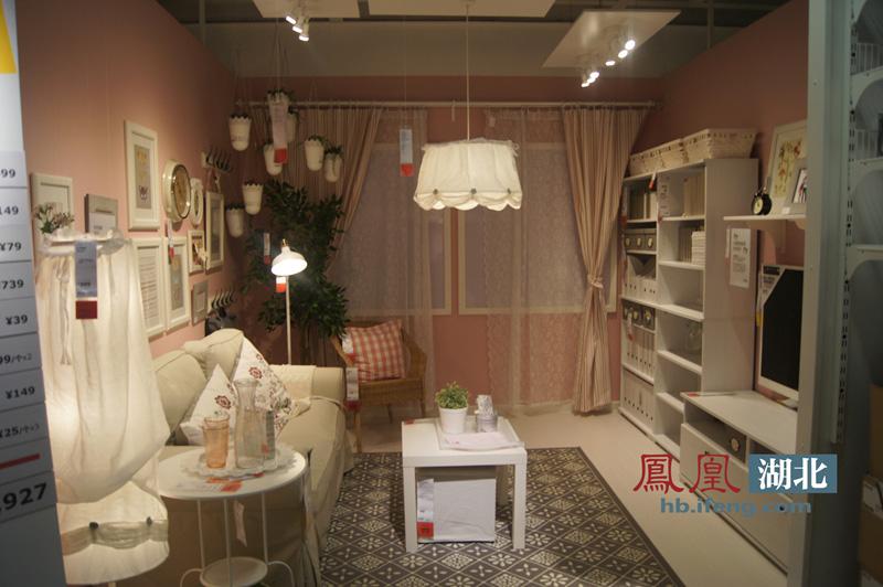 武汉宜家商场试营业 提前体验8000多种低价家居用品(图)