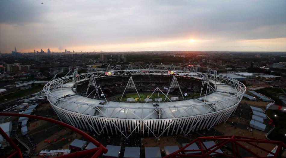 2012年7月28日凌晨4点,伦敦当地时间21点,2012伦敦奥运会开幕式文艺表演举行。