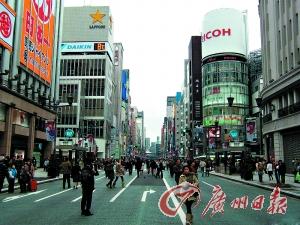 日本东京街头(图片来自网络)。