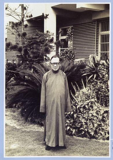 新亚书院第一任院长钱穆(任期1949年10月-1965年6月)