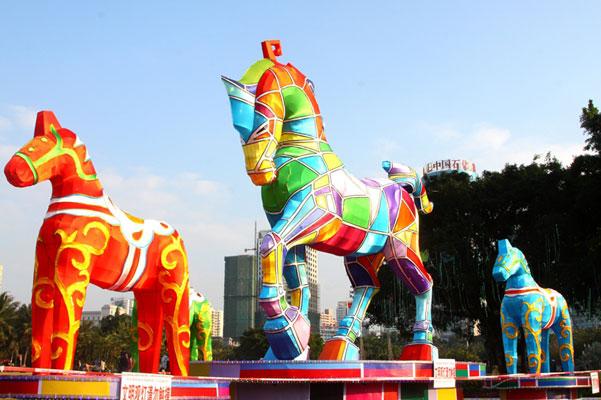 海口万春会将于1月31日晚正式亮灯 持续至元宵节
