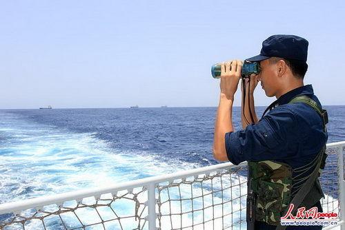 外媒:美漠视国际标准将导致中国军舰巡游其海岸