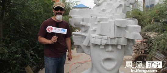 15国雕塑家聚长春雕刻欢乐未来