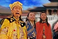 黄宗洛《宫廷斗鸡》饰黄帝
