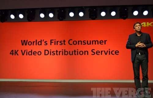 索尼推出全球首个消费级4K视频分销服务