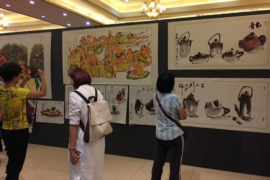 广州番禺举办 中华名家诗书画展