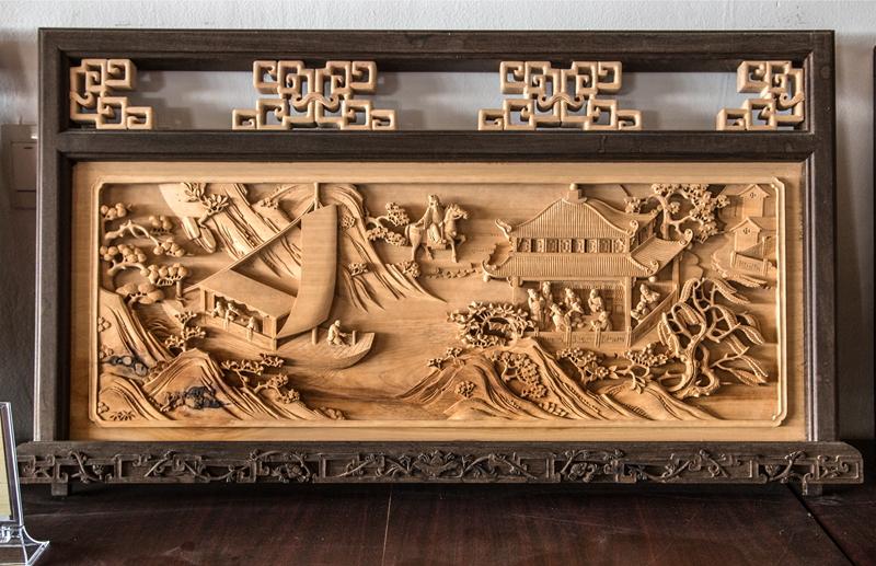 指尖的艺术—徽州木雕