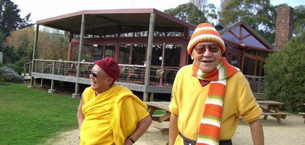 我见证两位老顽童喇嘛半世纪的友情--林聪