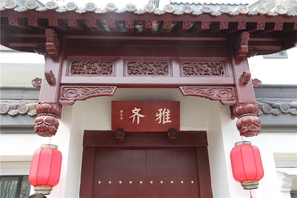 中式建筑欧式体验 鸿信大宅门宅院别墅即将推出