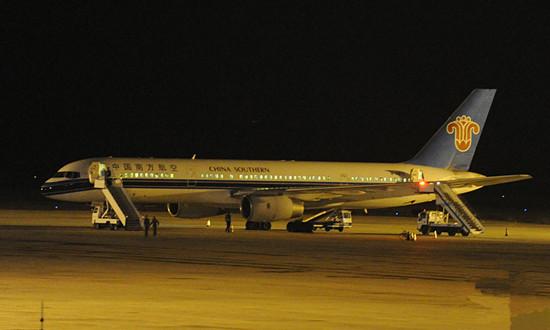 北京 兰州/10月8日从乌鲁木齐飞往北京的客机南航CZ680航班,因收到了...