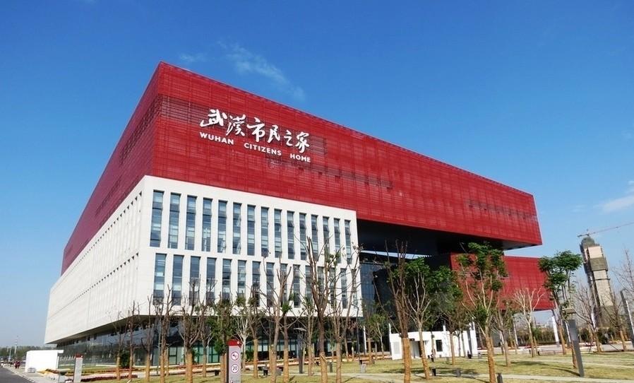 武汉市民之家:武汉民生地标 政务服务中心