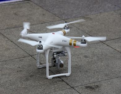 西安国庆安保首次使用空中无人机