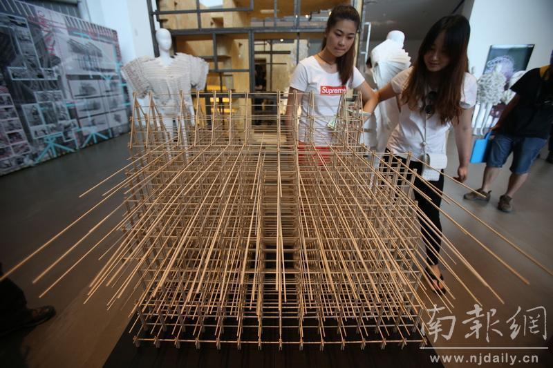 南艺设计学院举行毕业作品展览