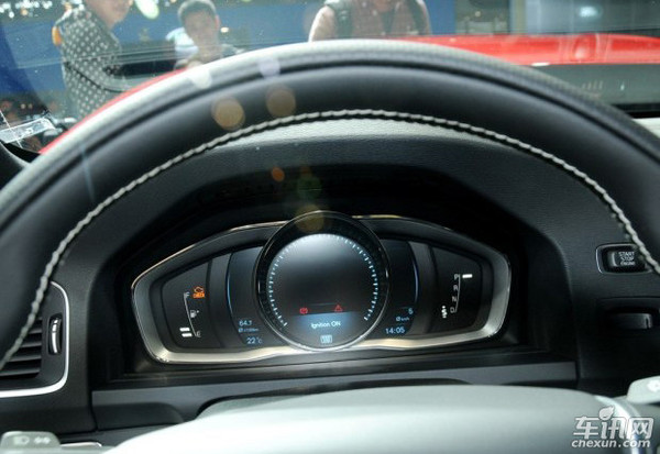 [2013长春车展]沃尔沃新款s60亮相