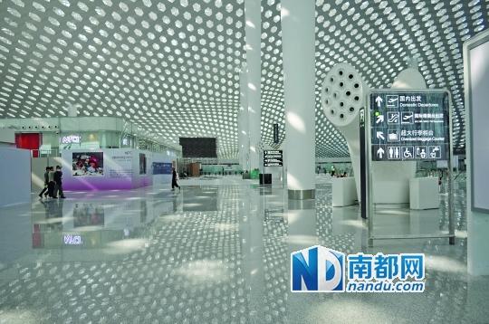 虎门站到深圳机场t3航站楼只需30分钟