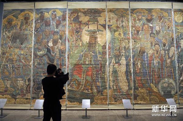 欣赏元代壁画 感受东方之美