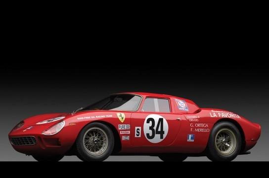 這輛紅色法拉利250 LM跑車以1430萬美元的價格賣出。(圖片來源:外國媒體)