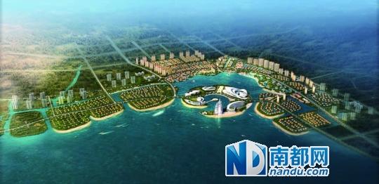惠州富力湾将国际岛居理念首次引入巽寮湾,将打造7大世界风情岛屿