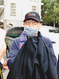 胡焱荣昨天被台湾移民部门逮捕。台湾《联合报》图