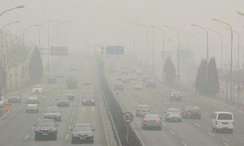 雾霾与健康图片素材