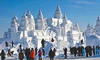 2014年长春冰雪旅游节正式开幕