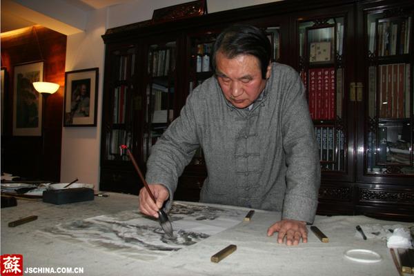 【中国梦·我的梦】残疾画家吴汉华:让中国艺术之花开