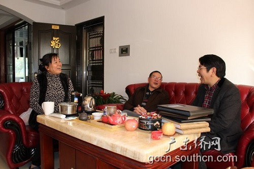 广东省侨办走访慰问广州市外派华文教师家属|