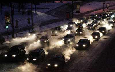环保部:汽车尾气是造成我国灰霾天气重要原因