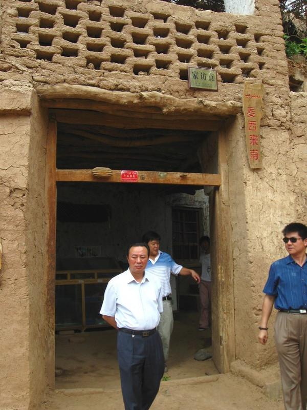 新疆维吾尔千年古村 吐峪沟