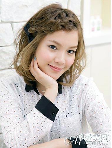 热荐减龄学生发型 可爱甜美很靓丽
