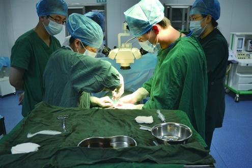 成功切除青春期男孩体内鸡蛋大小隐睾|阴囊|医