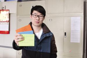 天大好班长开学发励志红包 设计话语温暖同学心