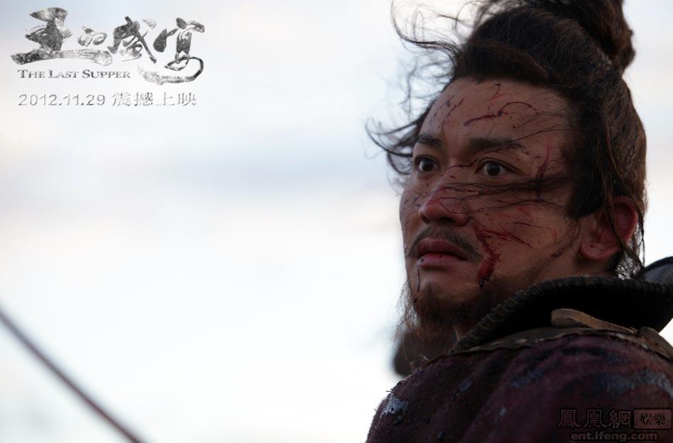 上错过亲手斩杀刘邦的遗憾一直怀在心中,直到他和吴彦祖扮演的项