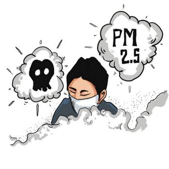 空气污染,你呼吸的每一口空气都可能将漂浮的颗粒,有害气体带进体内.