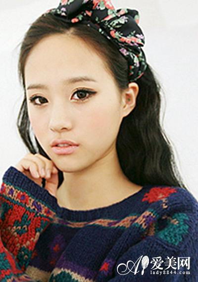 韩式卷发发型图片 灵气逼人超暖心